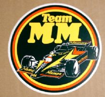 MAURER F1 TEAM MM 1980 sticker